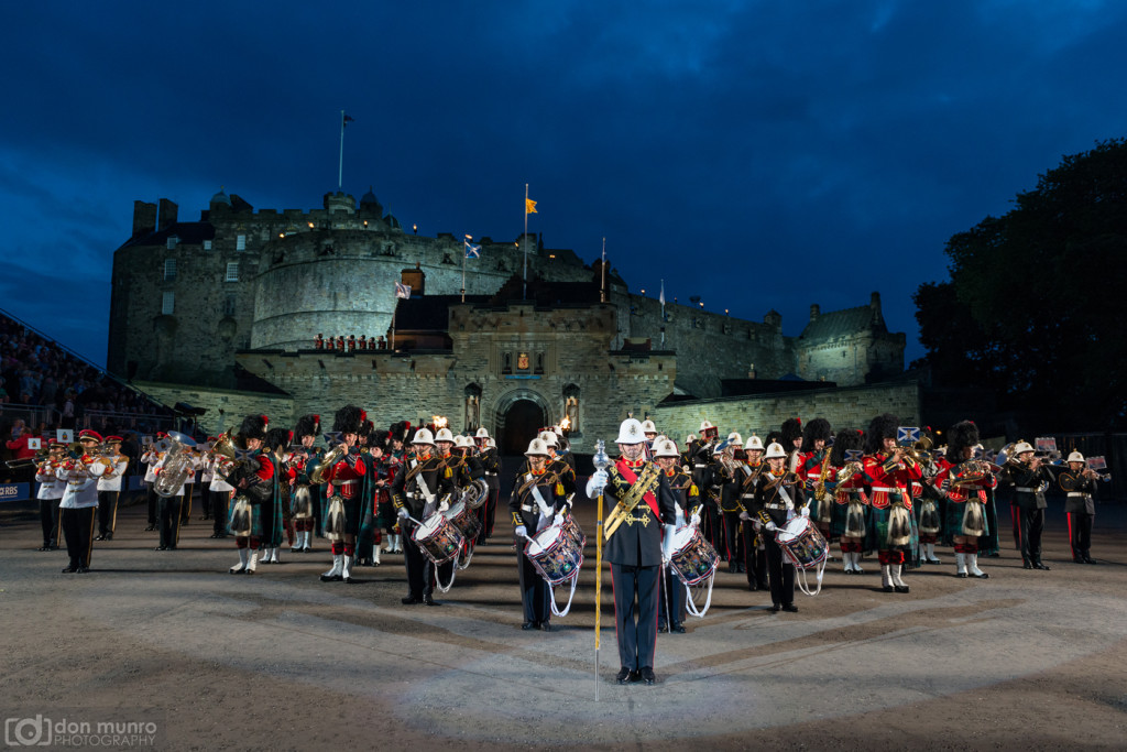The Royal Edinburgh Military Tattoo.