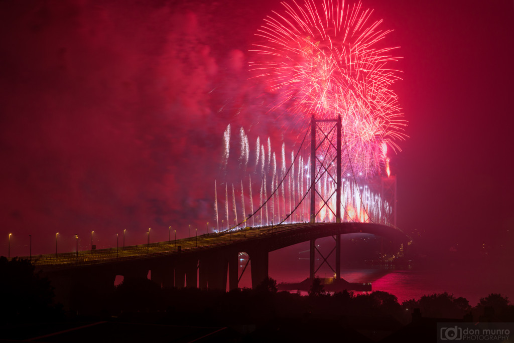 Forth Road Bridge celebrates it's 50th birthday.