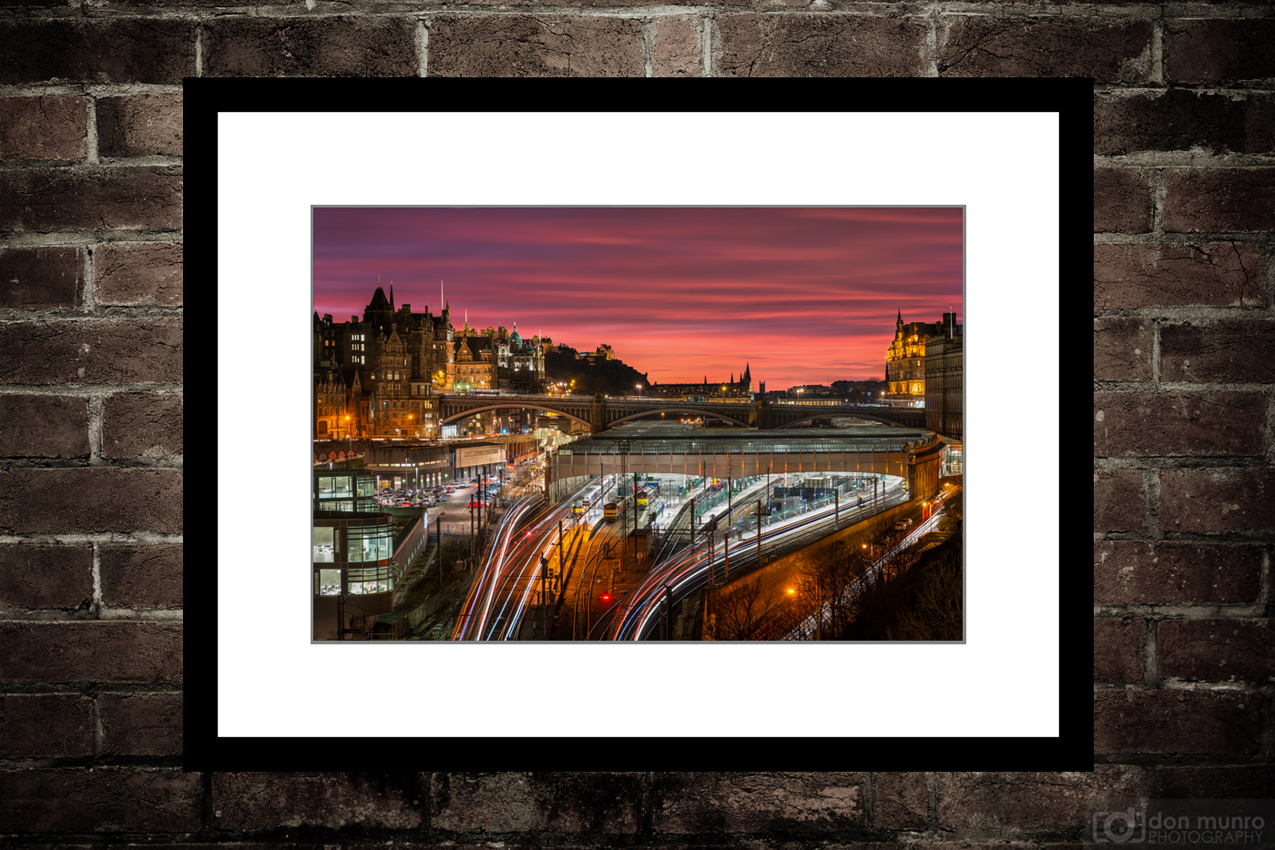 Sunset Over Waverley Station.
