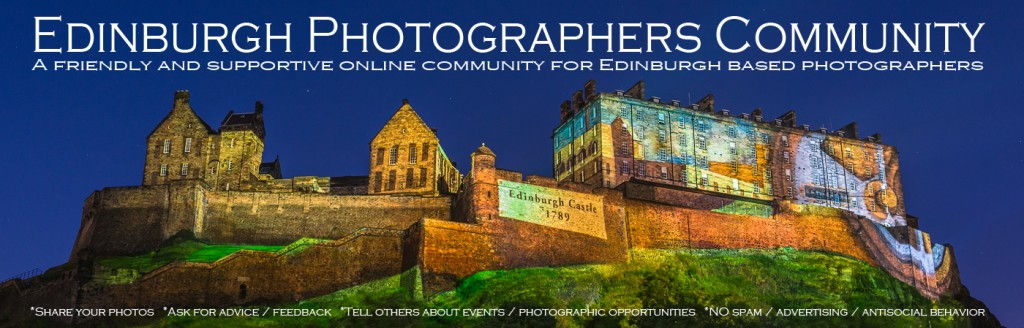 Edinburgh Photographers Community.