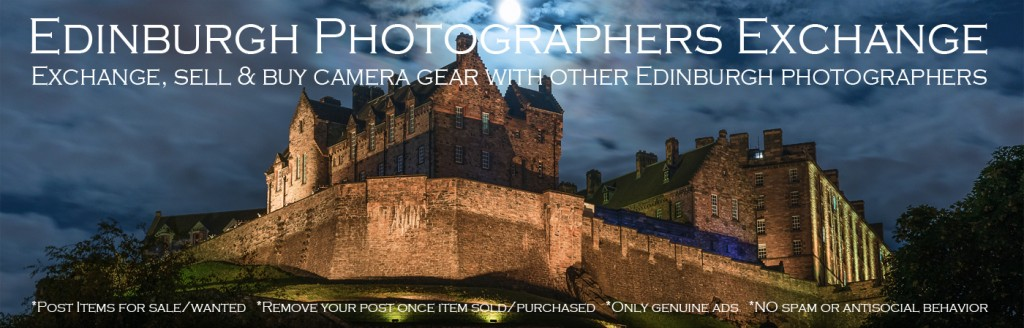 Edinburgh Photographers Exchange.