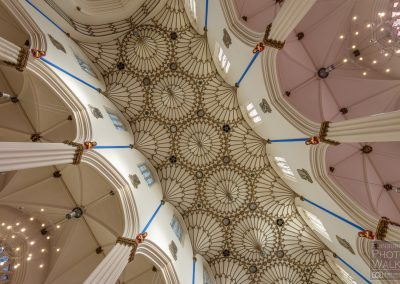 Ceiling within St. John's Episcopal Church