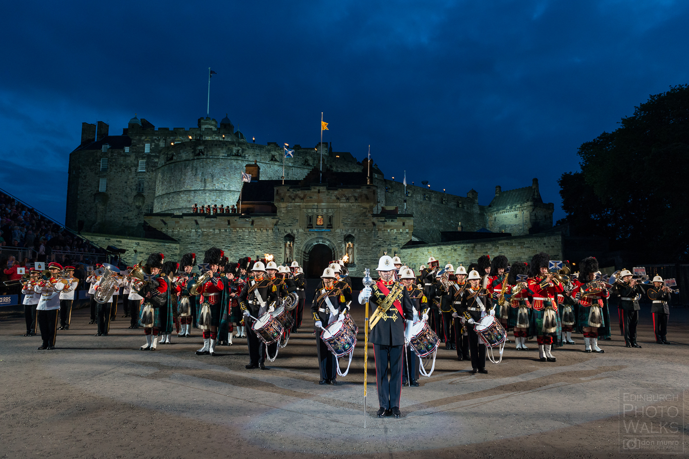 Edinburgh area edinburgh photo walks for Royal military tattoo
