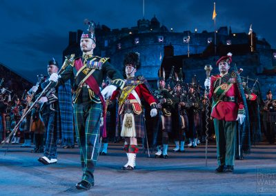 Soldiers marching, Royal Edinburgh Military Tattoo