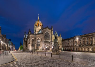 St. Giles at twilight