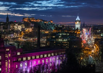 Winter view from Calton Hill