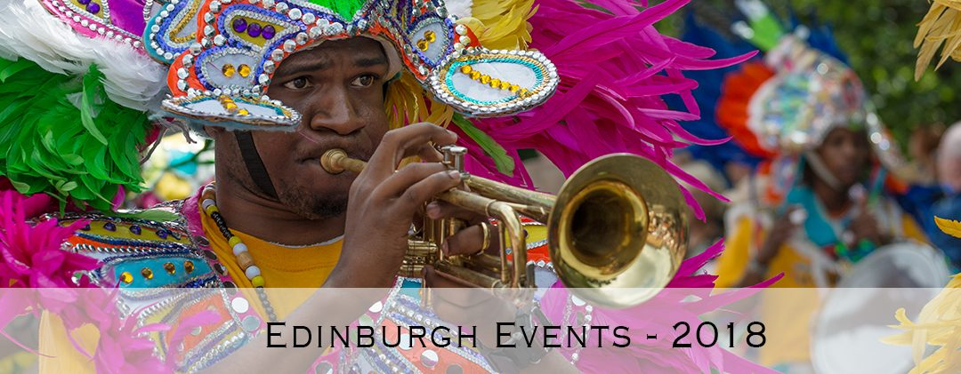 Edinburgh Events – 2018