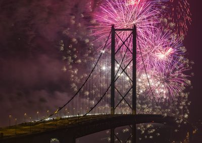 Forth Road Bridge 50th anniversary