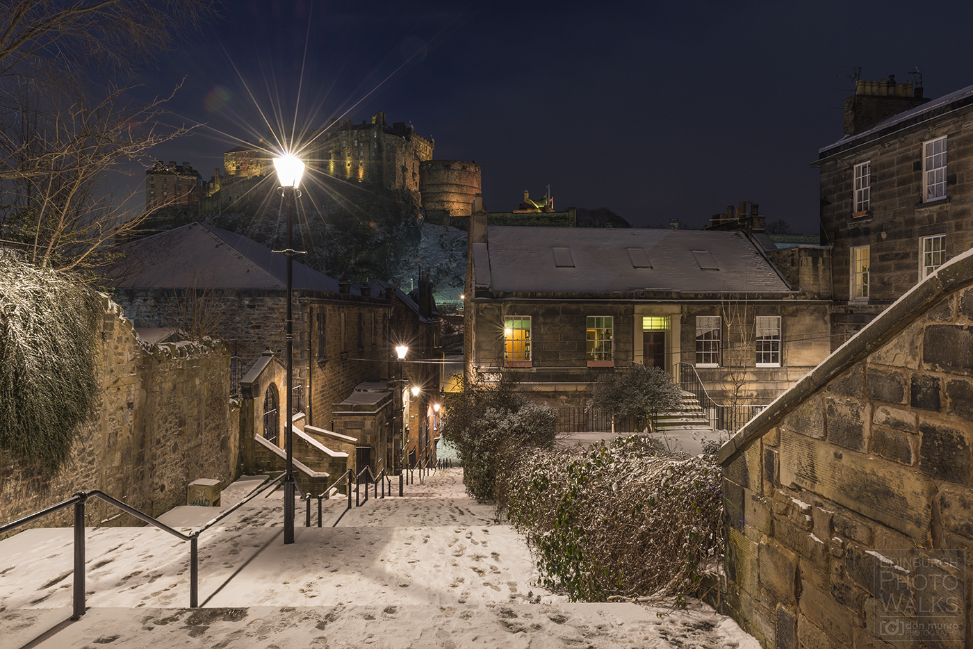 Winter Photography Workshops Edinburgh