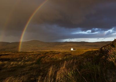 Rainbow on Isle of Mull