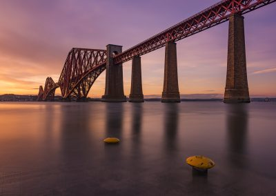 Sunset at The Forth Bridge