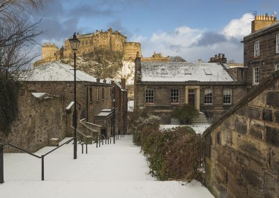 The Vennel in snow