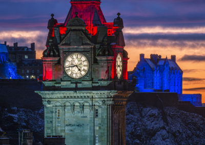 The Balmoral clock tower